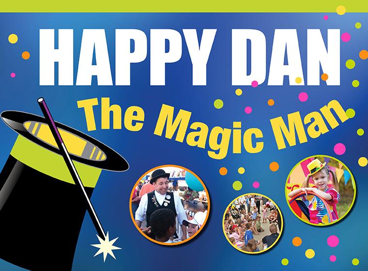 Happy Dan The Magic Man