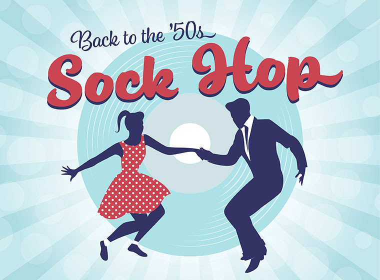 Back to the '50s Sock Hop
