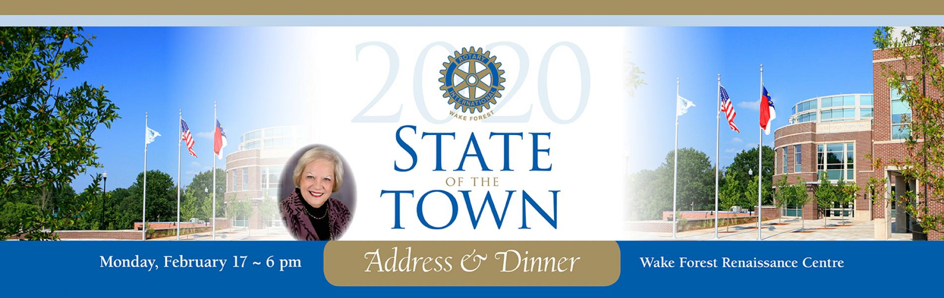 State of the Town Dinner and Address