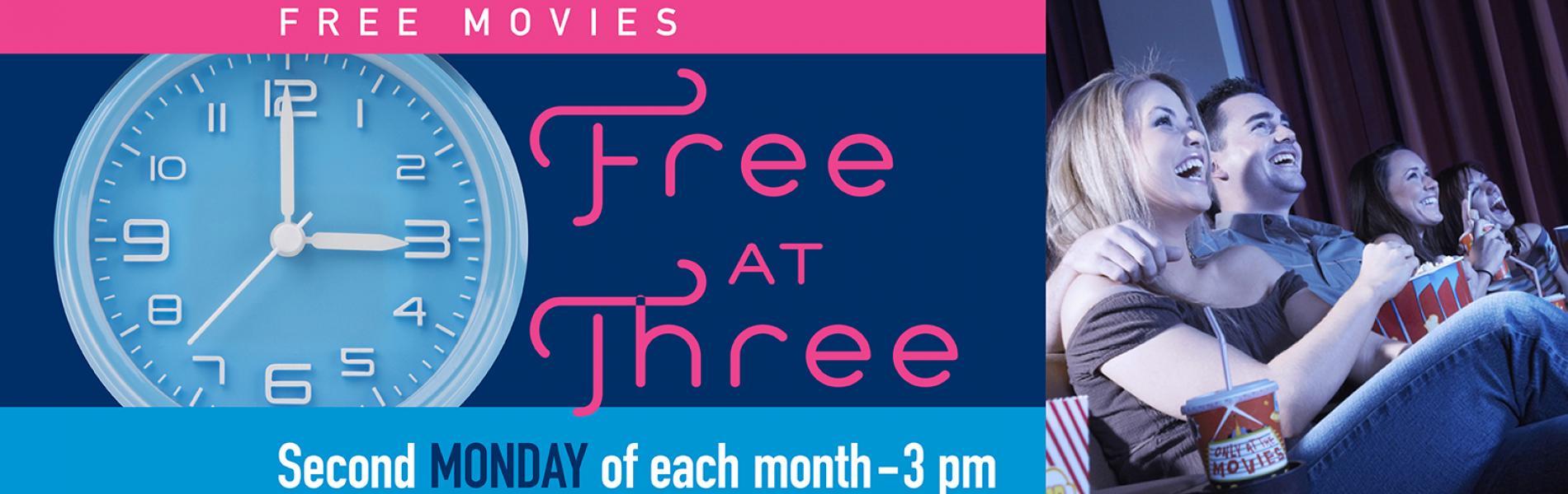 Free at 3