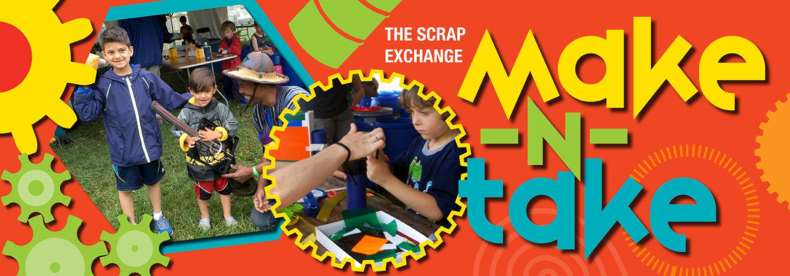 Make-N-Take - Scrap Exchange